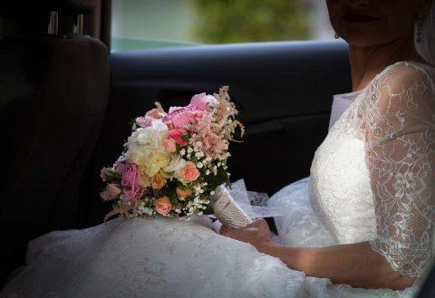 Fotos de boda detalle ramo de la novia