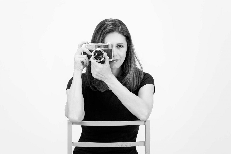 Autoretrato Rocío Sierra fotógrafo profesional en Valencia