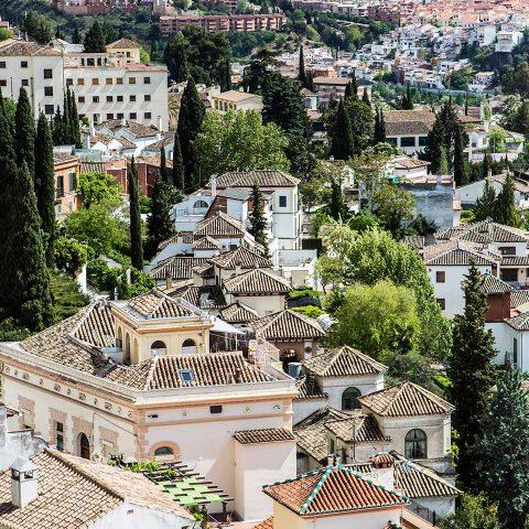 Imágenes de viajes: Albayzin de Granada