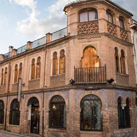 Calle del Albayzin en Granada