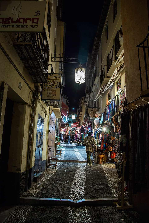 Fotografía de paisaje Granada barrio de Albayzin