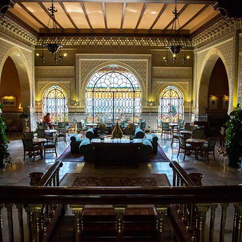 Entrada hotel Alhambra Palace