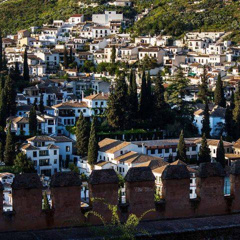 Vista del Albayzin de Granada