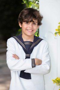 Fotos de comunión exterior niño